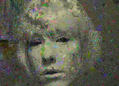 rosa menkman - datamosh monster - schizophrénie